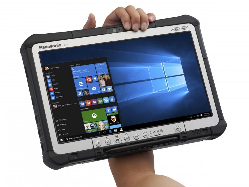 Panasonic обновила промышленный планшет Toughbook CF-D1